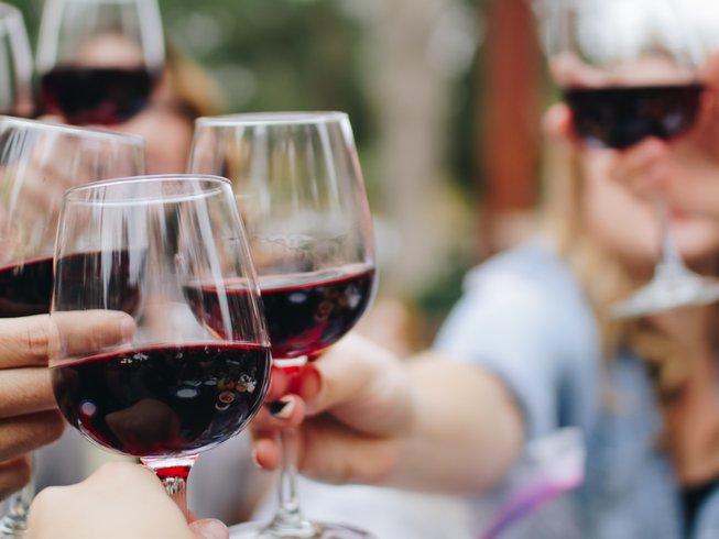 Yoga und Wein