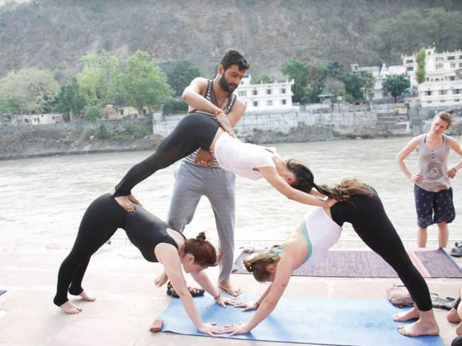 29-Daagse 200-urige Fusion Yoga Docententraining in Rishikesh, India