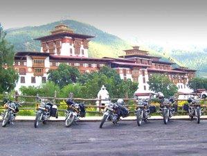 14 Days Dragon Adventure Motorbike Tour in Bhutan