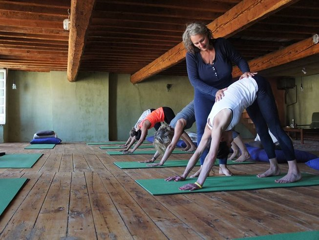 5 Tage Selbstfürsorge, Meditation und Yoga Urlaub in Frankreich