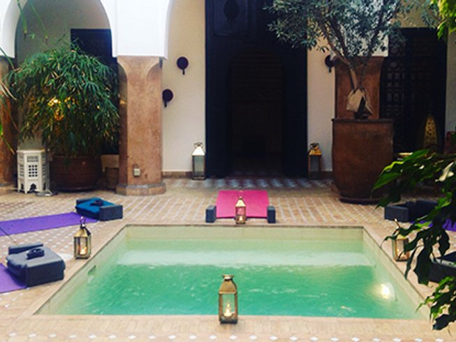 4 Days Yoga and Wellbeing Retreat in Marrakech, Morocco