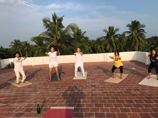 500 Hour Yoga Teacher Training near Auroville in Southern India
