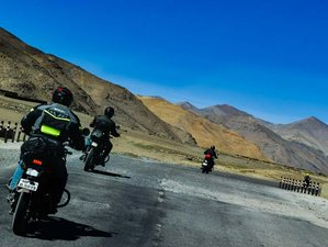 15 Day Great Himalayan Guided Motorcycle Tour in Himachal Pradesh and Ladakh