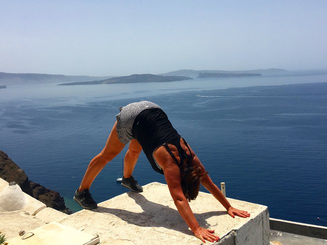 8 Days Pilates and Yoga Retreat in Santorini, Greece