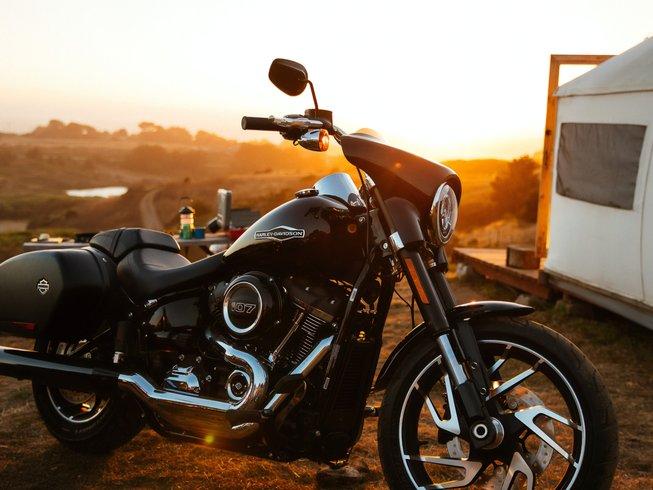 Motorcycle: Harley Davidson