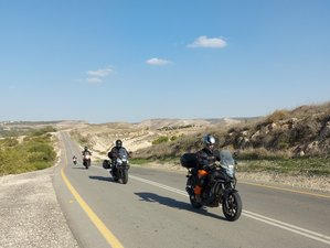 10 Day Crossing North to South Adventure: Cultural Guided Motorcycle Tour in from Tel Aviv