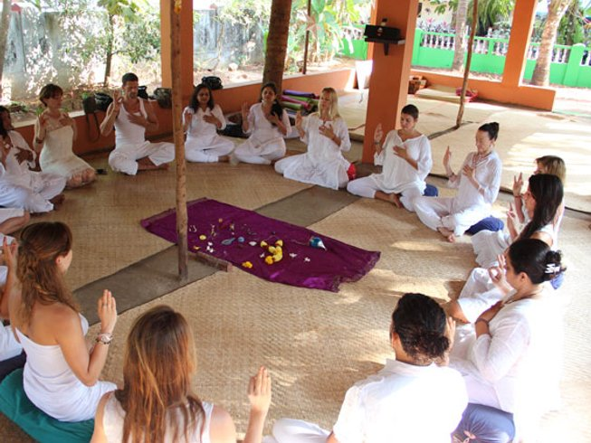 28 Days 200hr Renewing Yoga Teacher Training in Goa, India