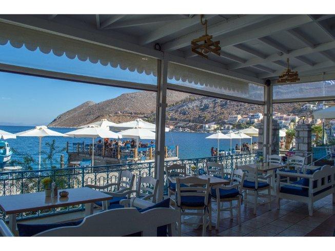 10 Tage Insel Abenteuer Yoga Urlaub in Symi, Griechenland