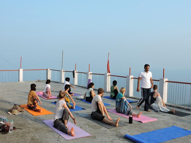7 Days Beginners Yoga Training in India