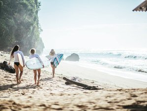 7 Day Luxury Women's Surf and Yoga Vacation in Bali, Indonesia