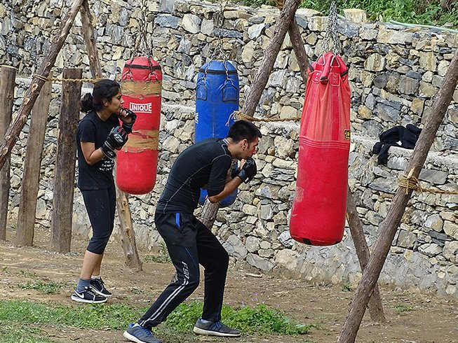 5 Days Kung Fu Training Camp in India