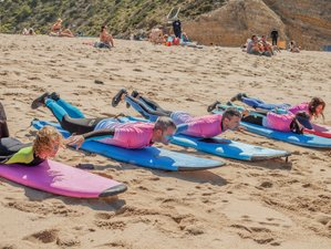 8 Days Surf Camp and Mind Flow Retreat with Joana Andrade in Lisbon, Portugal