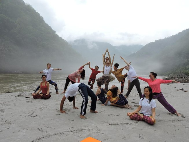 42 Days 300-Hour Yoga Teacher Training in Rishikesh, India
