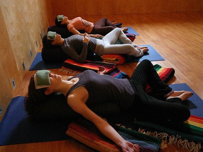 28 Days 200 Hrs Yoga Teacher Training in Rishikesh, India