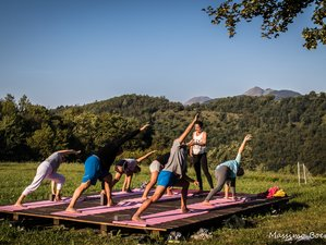 3 Day Yoga and Pranayama Retreat in organic Agriturismo in Liguria, Varese Ligure