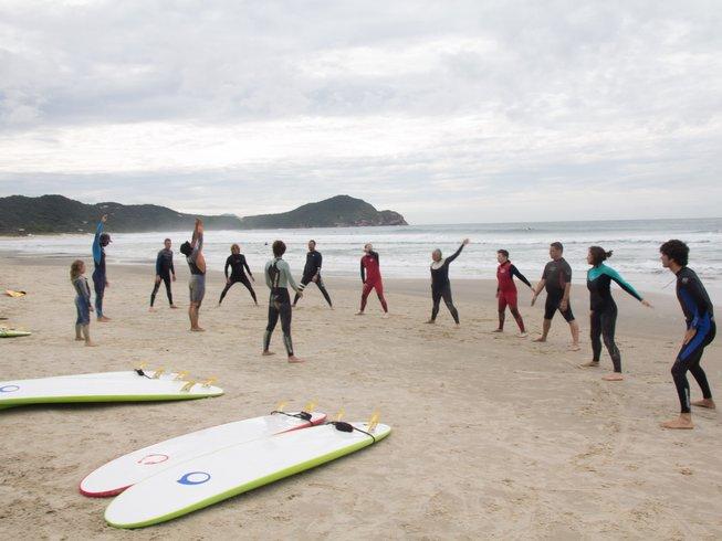 8 Days Gay Yoga Retreat and Surf Camp in Santa Catarina, Brazil