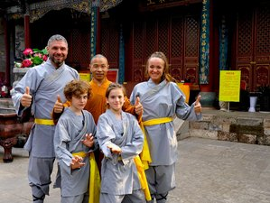 1 Year Shaolin Warrior Training in the Official Shaolin Temple Yunnan, China