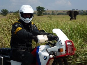 10 Days Kampala Loop Guided Motorcycle Tour and African Safari Experience in Uganda