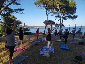 8 jours en stage mieux-être de yoga, pilates zen et méditation à Sagone, Corse du sud