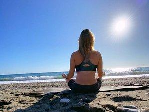 3 días intensivos hacia un estilo de vida yoguico en Playa de la Joya, Costa Tropical