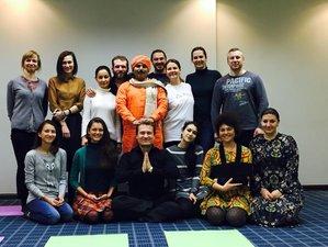 15 jours en formation de professeur de yoga et ayurveda à Rishikesh, Inde