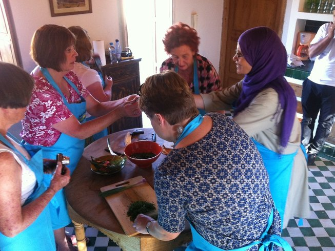 8 Days Dinner Party Culinary Holiday in Marrakech, Morocco