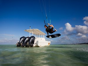 5 Tage Kitesurfing-Camp Tropical Island auf Sansibar