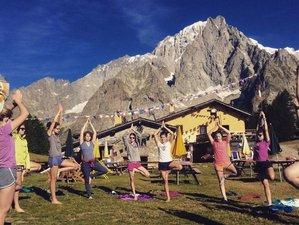 3 días de senderismo, cata de vinos, meditación y retiro de yoga en los Alpes, Francia