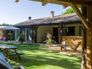 7 Day Surfing and Relaxing in Silver'Landes Surf Camp in Leon, the Landes
