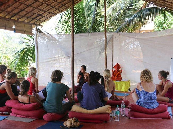 28 Days 200 Hr Yoga Teacher Training in Goa, India