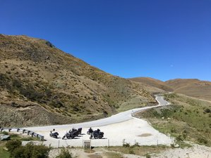 26 Days Fully-Guided South to North New Zealand Motorcycle Tour