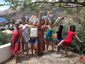 8 Days Cyclical Femininity Women's Yoga Retreat in Crete