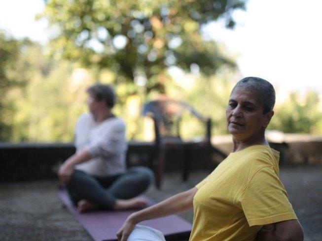 """6 Tage Meditation und Sanfter Yoga Urlaub für die """"Junggebliebenen"""" 50+ in Jodhpur, Indien"""