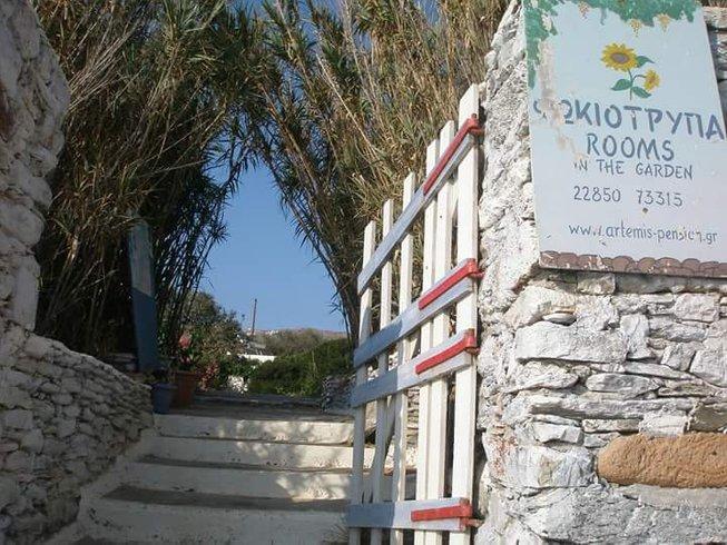 7 jours en stage de yoga bien-être à Amorgos, Grèce