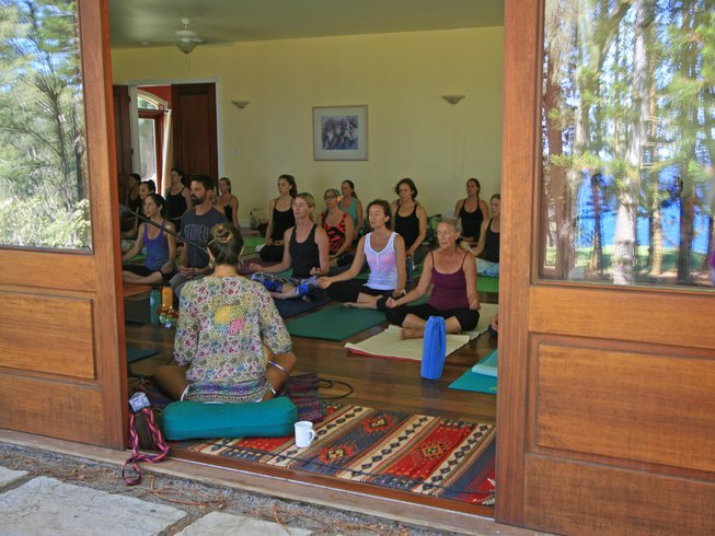 6 jours en stage de yoga à Hawai