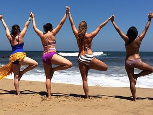 3 jours en stage de yoga et surf avec massage à Bali, Indonésie