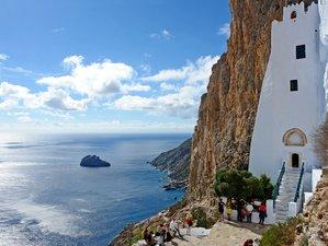 8 Days Yoga Retreat in the Iyengar Tradition in Amorgos, Greece