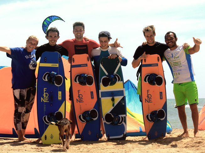 5 Days Unforgettable Kitesurfing Camp in Cabo de la Vela
