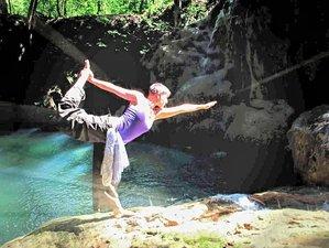 5 Days Inner Beauty Detox by the Waterfall: Vegan Rejuvenation Yoga Retreat in Belize