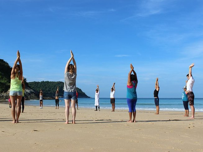 22 Days Fitness, Nutrition, & Yoga Retreat in Phuket, Thailand