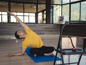 Online Self-Paced 500 (200 + 300) Hour Hatha, Ashtanga, Vinyasa, Yin Yoga TTC with Max Live Sessions