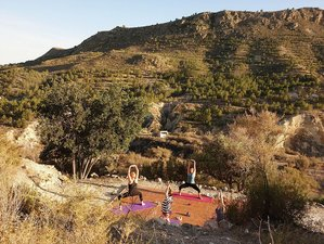 7 Day Embrace The Elements Hatha & Ashtanga Semi Private Yoga Retreat in Totana, Murcia