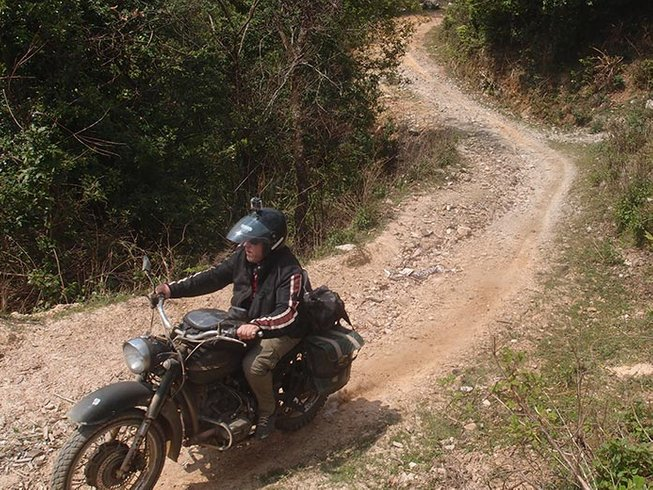 6 Days Trail-Riding Motorbike Tour Vietnam