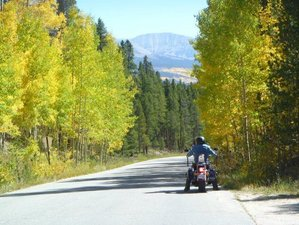 17 Day High Country Self-Guided Colorado Loop Motorcycle Tour in USA via South Dakota