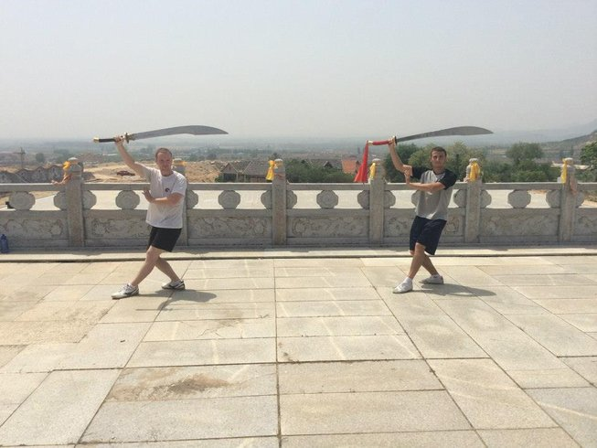 7 Months Chinese Martial Arts Kung Fu Academy in China