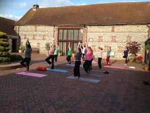 3 jours en week-end de yoga et de méditation de luxe dans le Sussex, Grande Bretagne