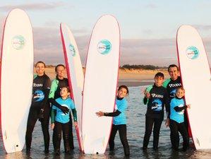 8 Days Family Surf Camp Including a 3-Day Surf Course Near Porto, Portugal