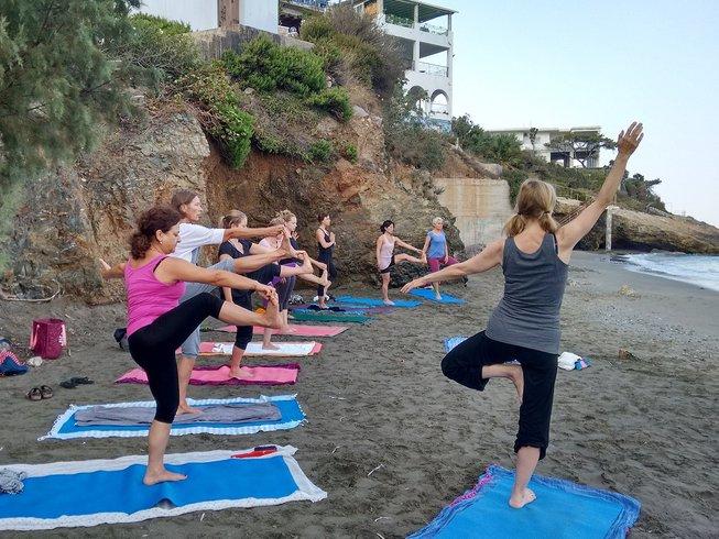 8 jours en stage de yoga et Pilates à Kalymnos, Grèce