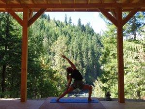 4 jours en stage de yoga et plongeons en été en Colombie Britannique, Canada