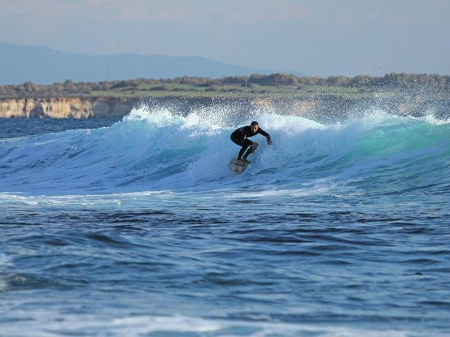 8 Days Intensive Yoga and Surf Camp in Oristano, Sardinia, Italy